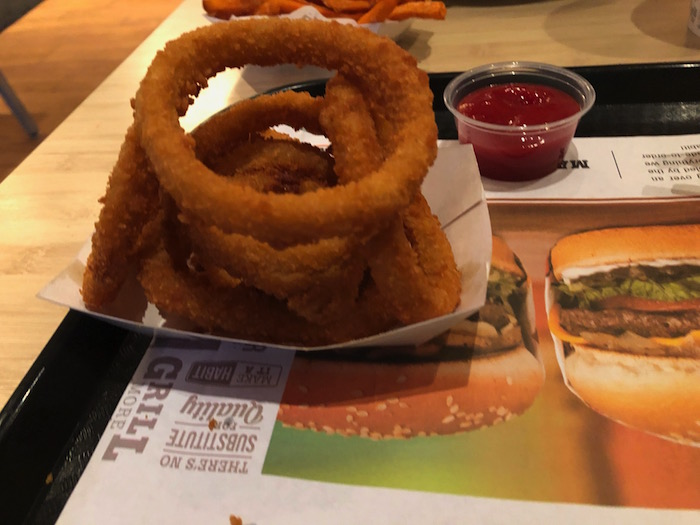 The Habit onion rings