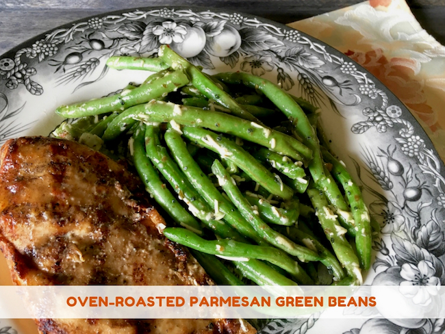 Oven-Roasted Parmesan Green Beans Recipe