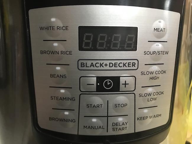 BLACK + DECKER PR100 Pressure Cooker