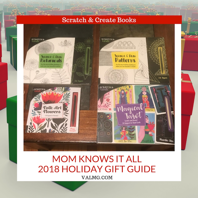 MOM KNOWS IT ALL 2018 HOLIDAY GIFT GUIDE - Scratch & Create Books