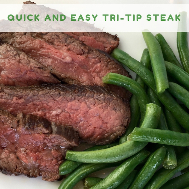 Quick and Easy Tri-Tip Steak Recipe