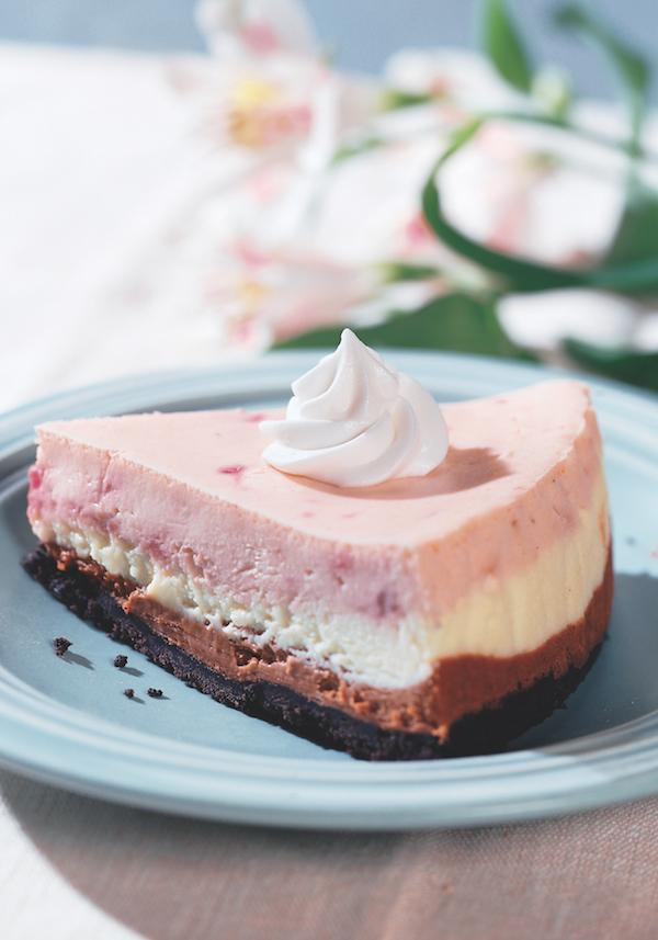 Neopolitan Cheesecake Recipe From The Cheesecake Bible Cookbook