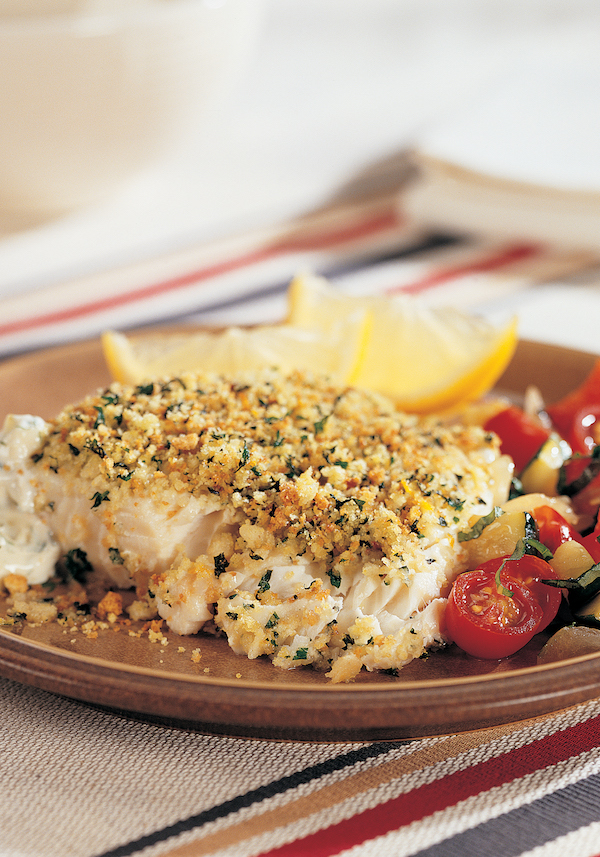 Roasted Fish Fillets With Crumb Topping Recipe From 150 Best Toaster Oven Recipes