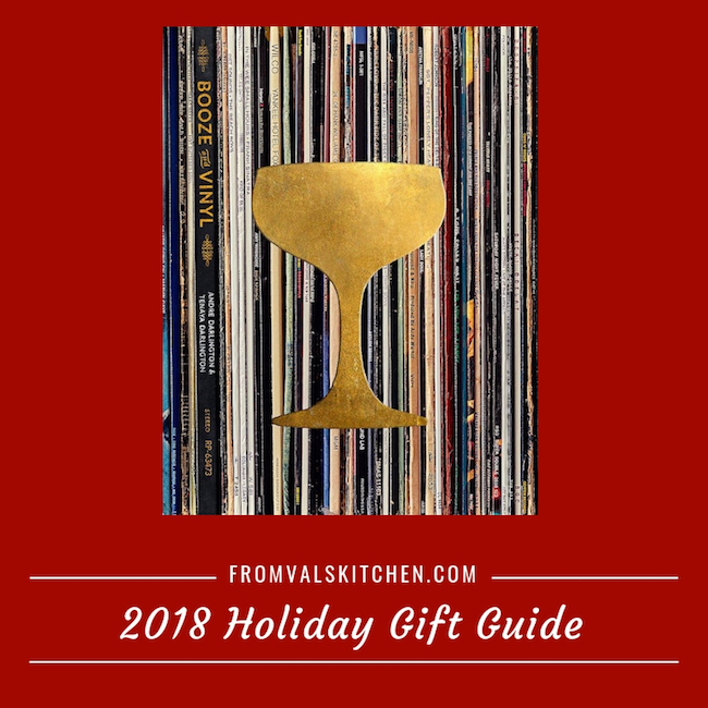 From Val's Kitchen 2018 Holiday Gift Guide – Booze & Vinyl: A Spirited Guide to Great Music and Mixed Drink