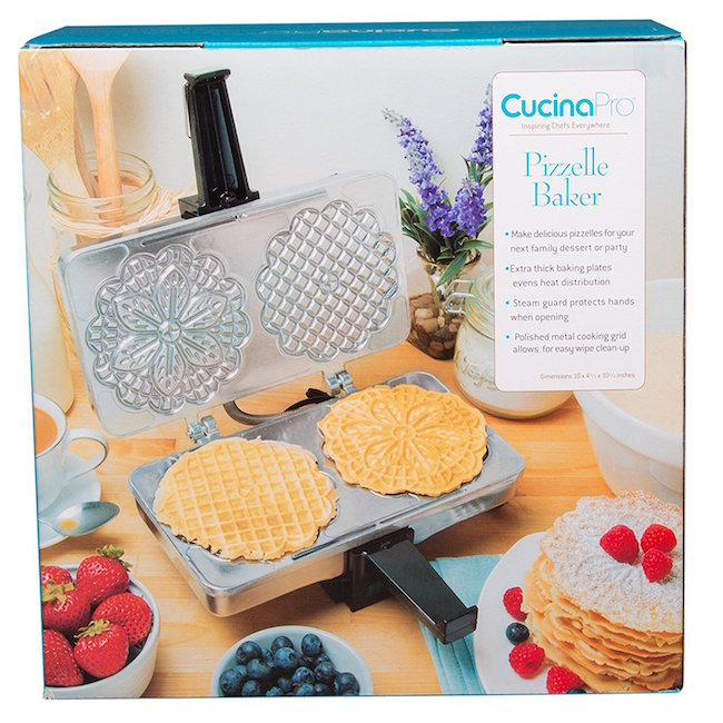 2018 Holiday Gift Guide - CucinaPro Pizzelle Nonstick Baker