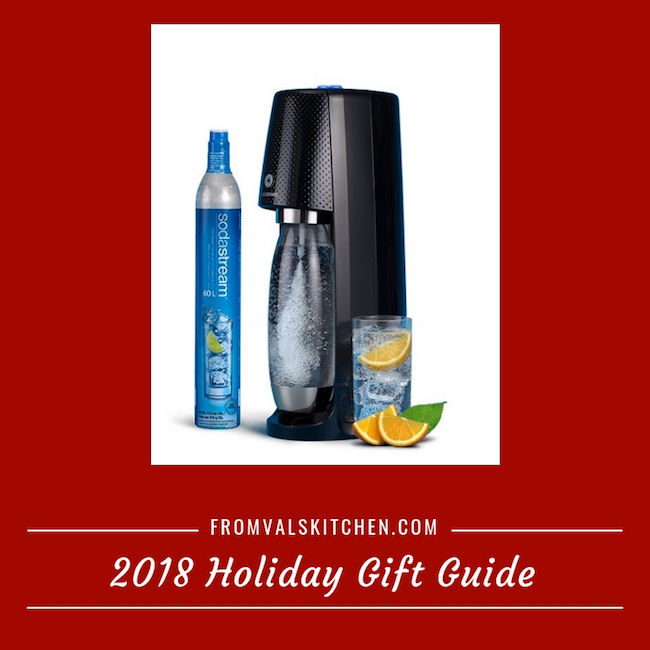 2018 Holiday Gift Guide – SodaStream One Touch Sparkling Water Maker Starter Kit