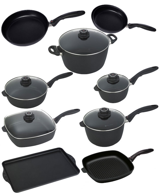 Swiss Diamond XD Cookware - One-Pan Gluten-free Pasta With Ground Beef
