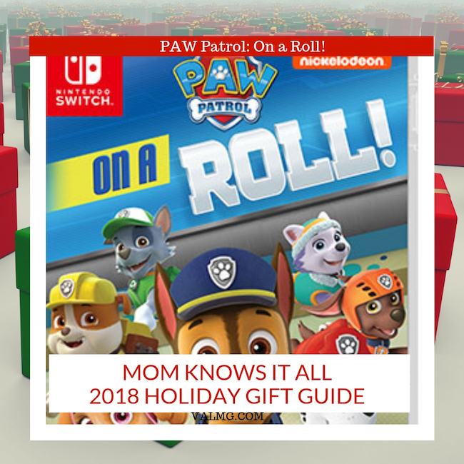 MOM KNOWS IT ALL 2018 HOLIDAY GIFT GUIDE - Paw Patrol On A Roll Switch