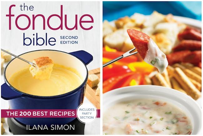 The Fondue Bible Cookbook Review With Pizza Fondue Recipe