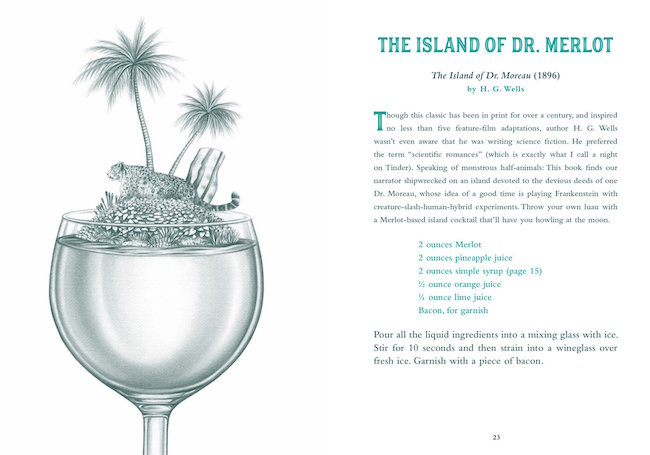 Are You There God? It's Me, Margarita: More Cocktails with a Literary Twist - The Island Of Dr Merlot