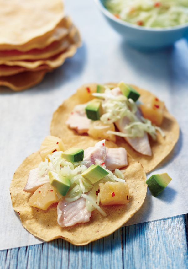 Fish and Pineapple Tostadas Recipe From The 5-Ingredient Instant Pot Cookbook