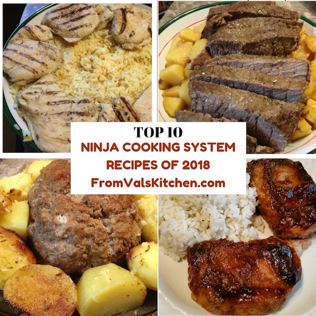 From Val's Kitchen's Top 10 Ninja Cooking System Recipes of 2018