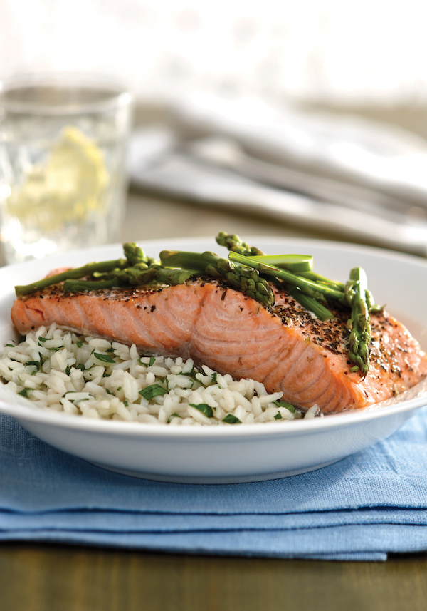 Herbed Salmon with Asparagus Recipe From The 5-Ingredient Instant Pot Cookbook