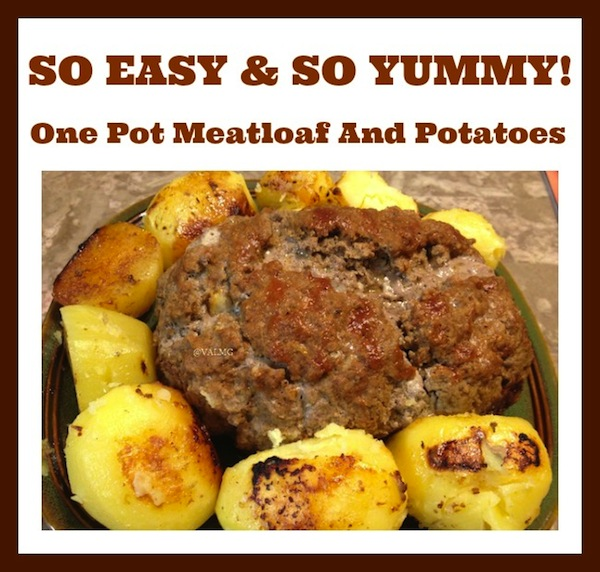 One-Pot Meatloaf And Potatoes Recipe For Ninja Cooking System