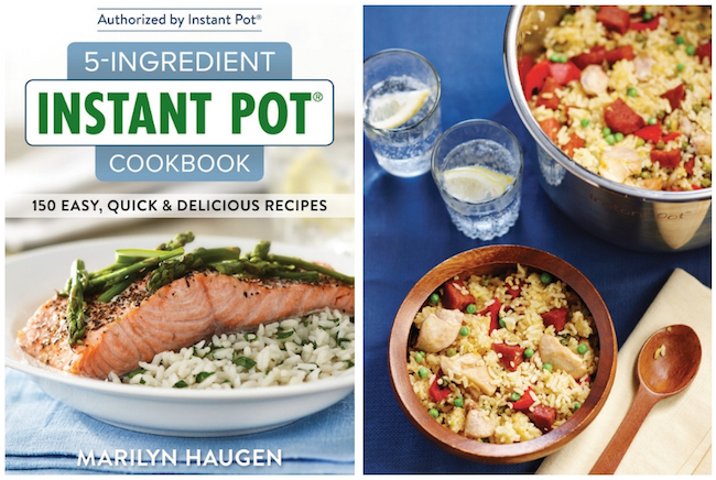 5-Ingredient Instant Pot Cookbook With Valencia-style Paella Recipe