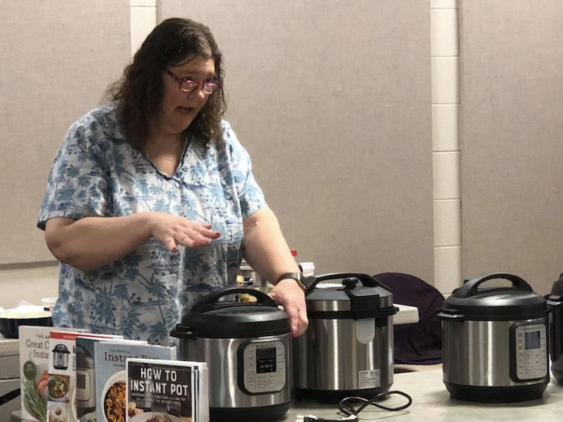 Instant Pot class at the Library