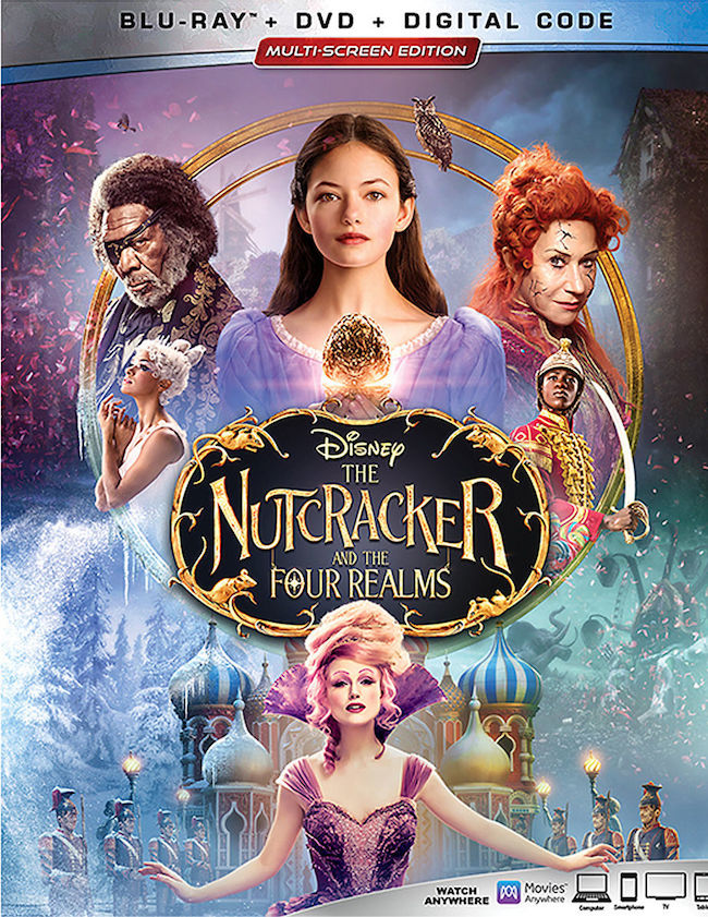 Disney The Nutcracker and the Four Realms Blu-ray Combo Pack