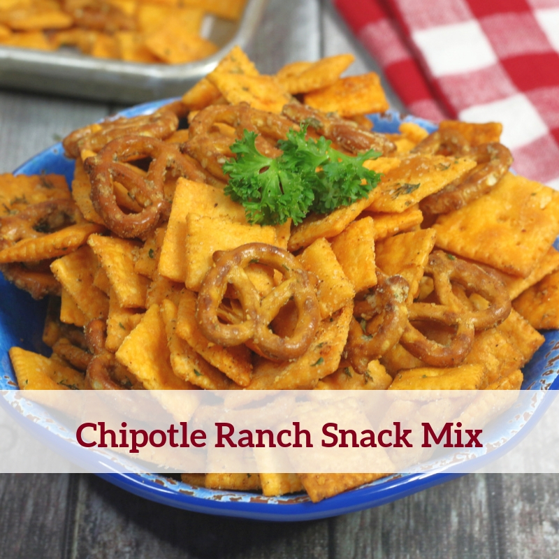 Chipotle Ranch Snack Mix Recipe