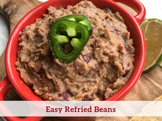 Easy Refried Beans Recipe