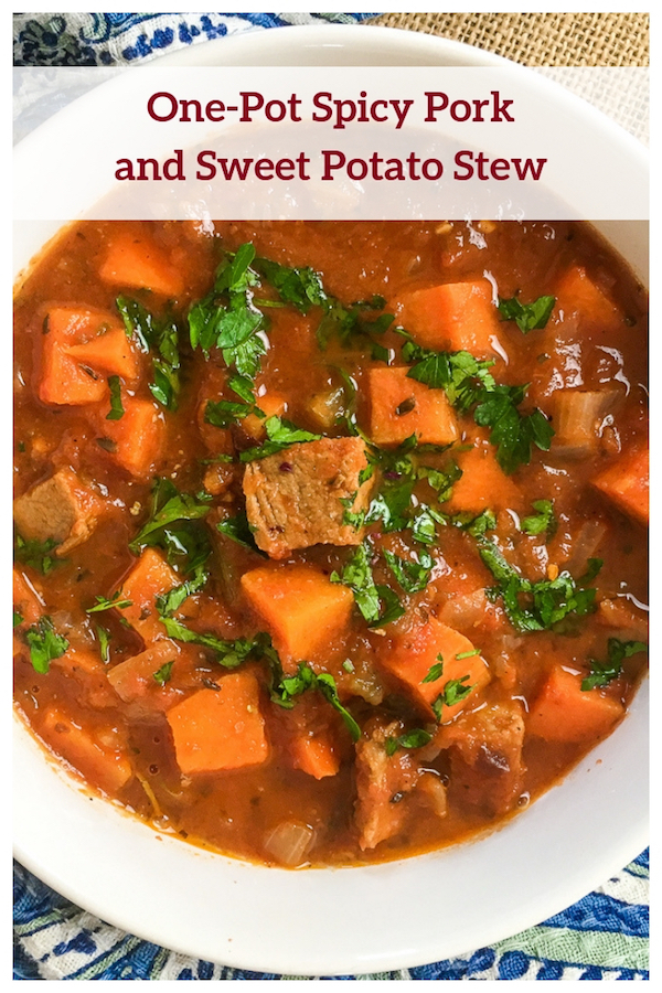 One-Pot Spicy Pork and Sweet Potato Stew Recipe