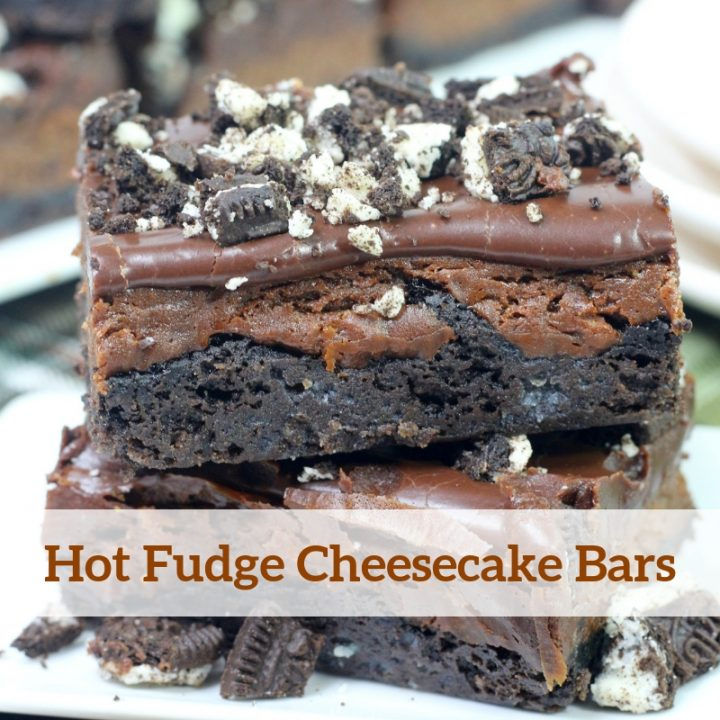 Hot Fudge Cheesecake Bars Recipe