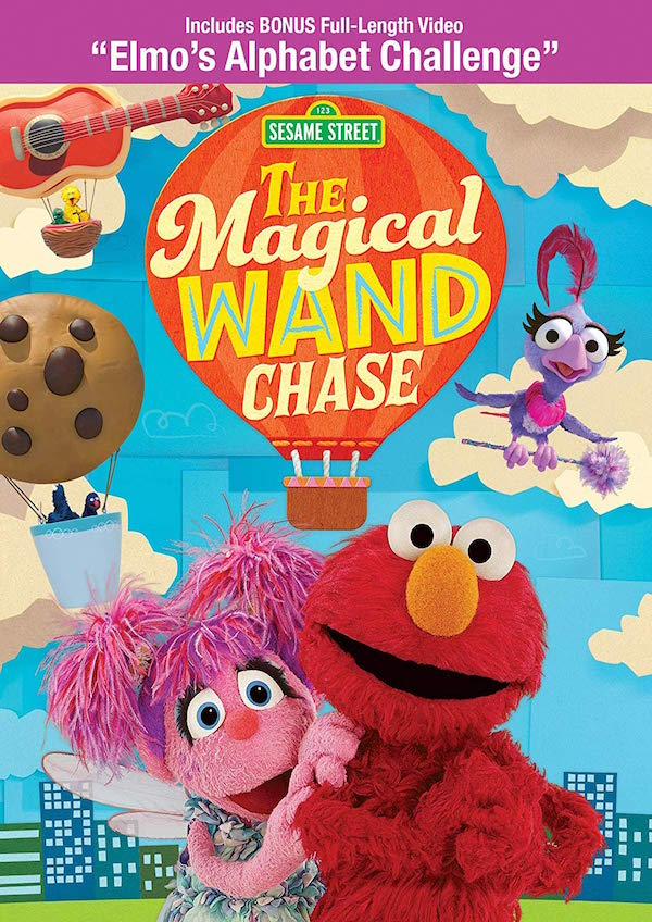 Sesame Street: The Magical Wand Chase On DVD