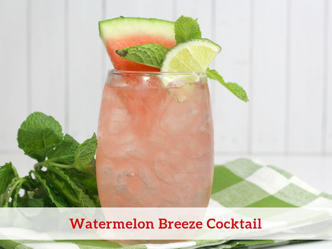 Watermelon Breeze Cocktail Recipe
