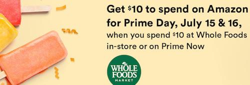 Amazon Prime Whole Foods
