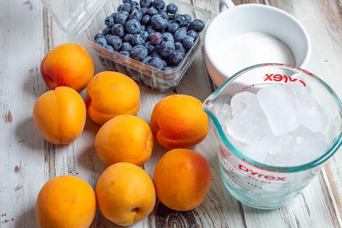 Blueberry Apricot Slushie Recipe
