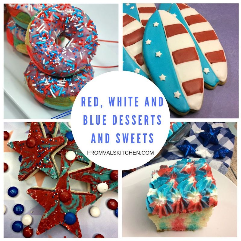 Red White And Blue Desserts And Sweets Recipes