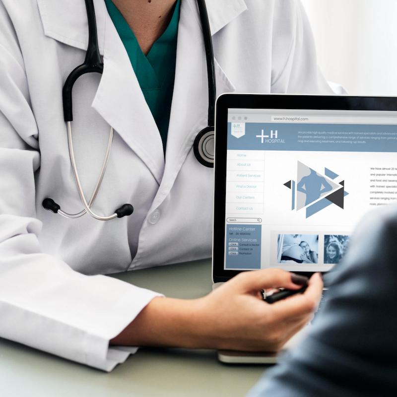 laptop medical records