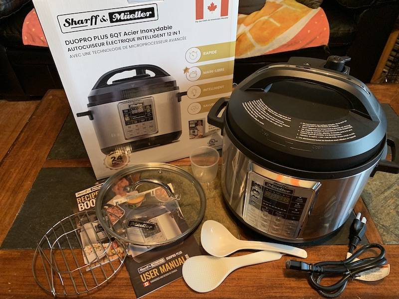Sharff & Müeller Duopro Plus Electric Pressure Cooker