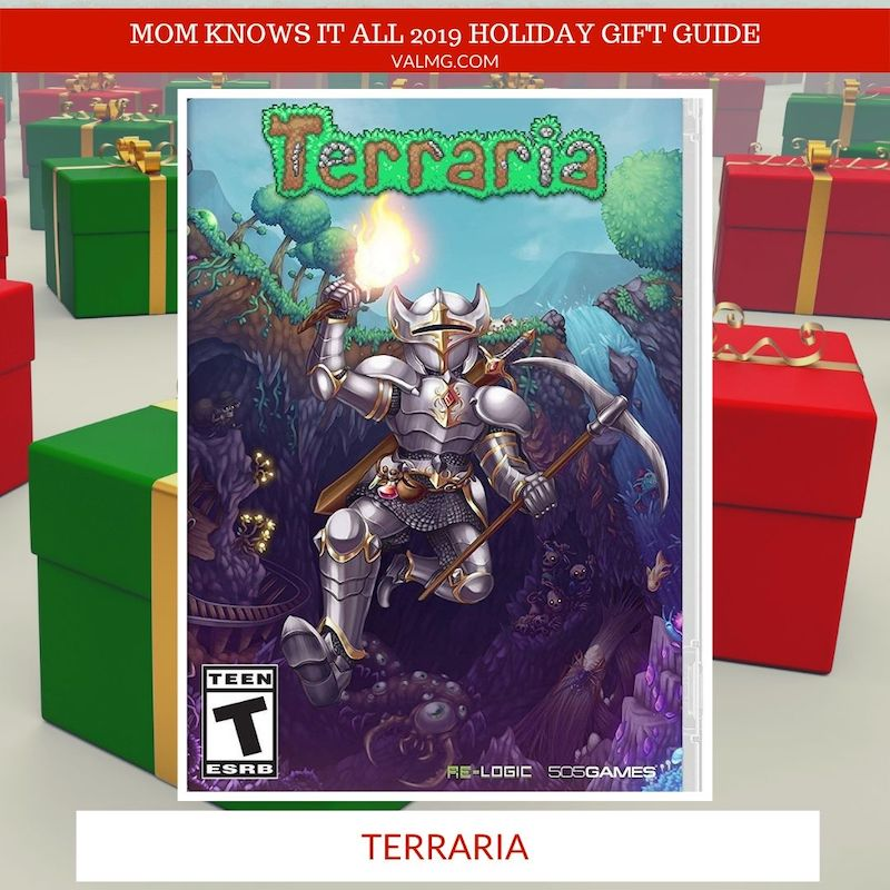 MOM KNOWS IT ALL 2019 HOLIDAY GIFT GUIDE - Terraria For Nintendo Switch