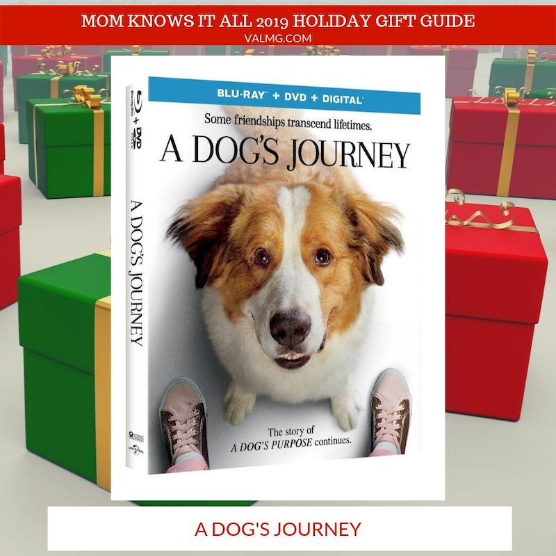 2019 HOLIDAY GIT GUIDE - A Dog's Journey Blu-ray
