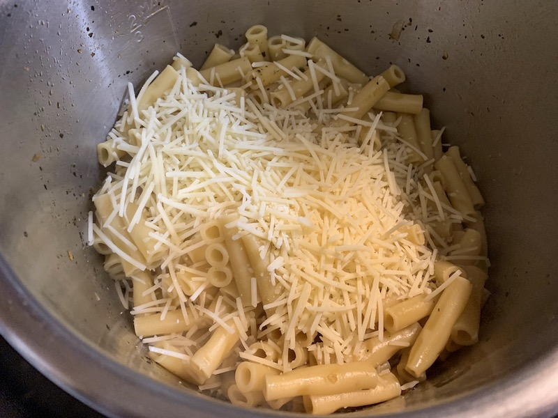 Pressure Cooker Pasta Primavera Recipe From Val's Kitchen