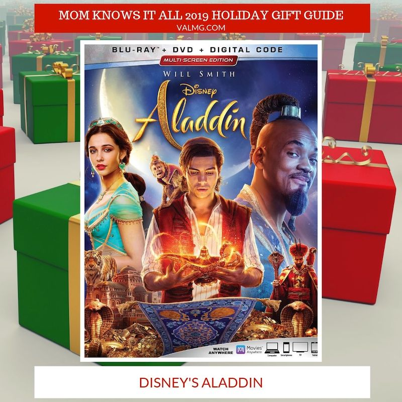 Mom Knows It All 2019 HOLIDAY GIFT GUIDE - Disney's Aladdin