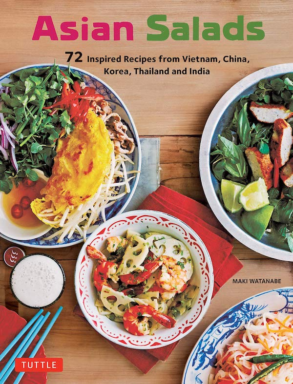 FROM VAL'S KITCHEN 2019 HOLIDAY GIFT GUIDE - Asian Salads Cookbook