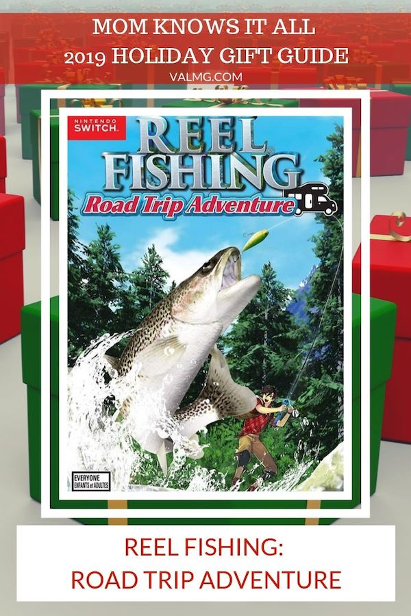 MOM KNOWS IT All 2019 HOLIDAY GIFT GUIDE - Reel Fishing Road Trip Adventure Game For Nintendo Switch and PlayStation 4