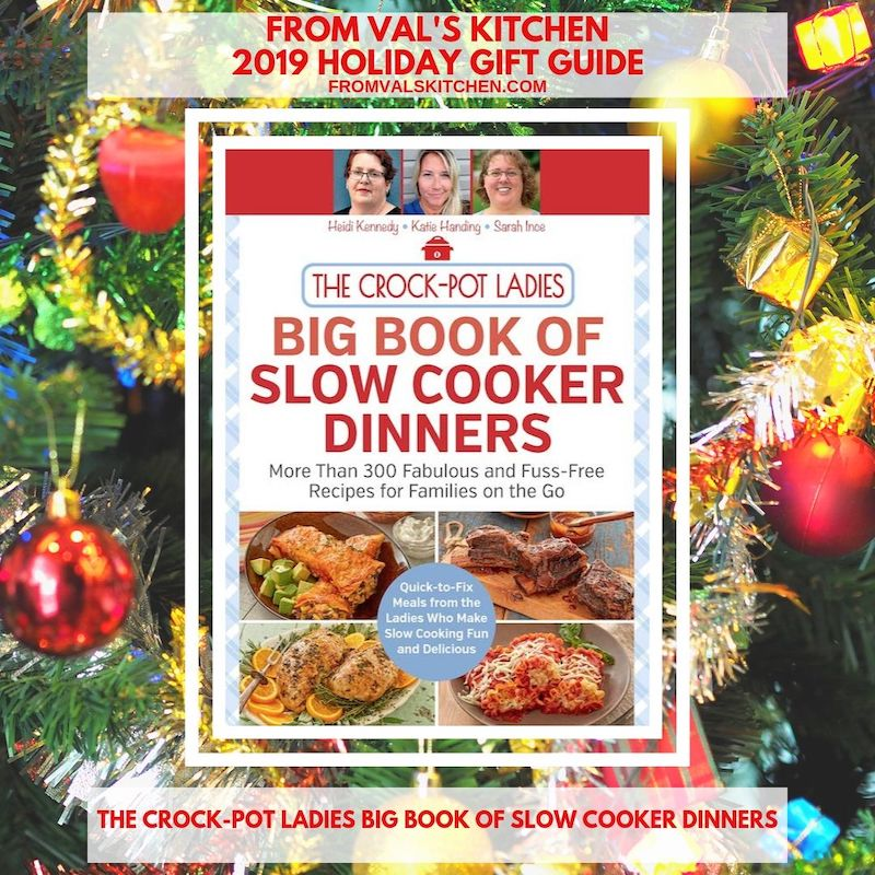 FROM VAL'S KITCHEN - Big Book of Slow Cooker Dinners Cookbook With Bacon Au Gratin Cauliflower Recipe
