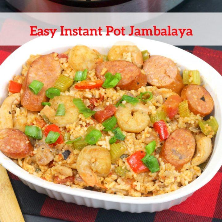 Easy Instant Pot Jambalaya Recipe