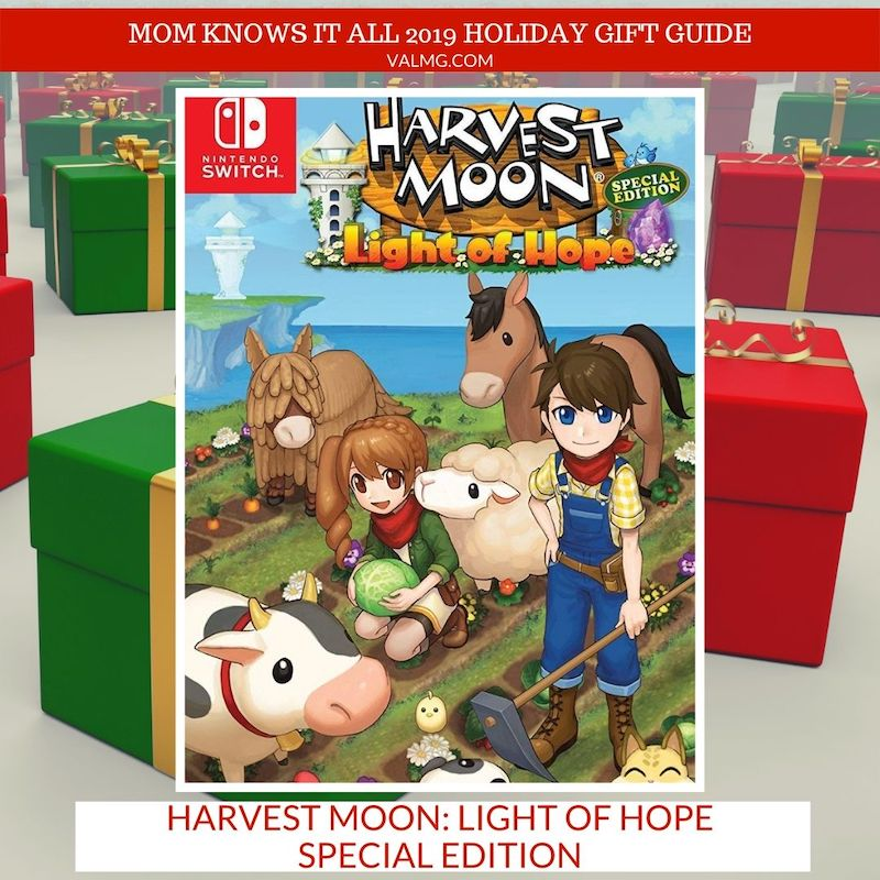 MOM KNOWS IT ALL 2019 HOLIDAY GIFT GUIDE - Harvest Moon: Light Of Hope Special Edition For Nintendo Switch and PlayStation 4