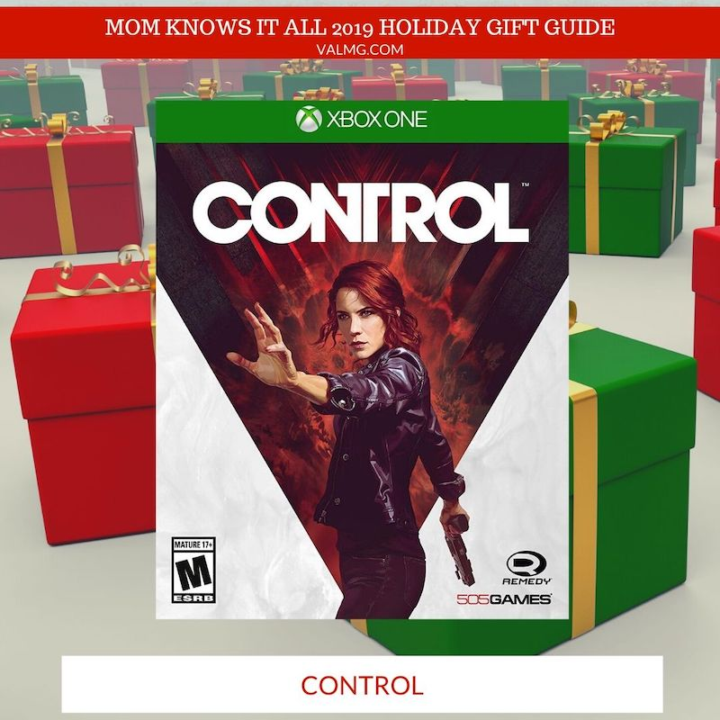 MOM KNOWS IT ALL 2019 HOLIDAY GIFT GUIDE - Control For Xbox One, PlayStation 4 And PC