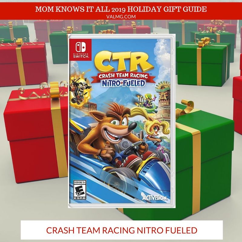 MOM KNOWS IT ALL 2019 HOLIDAY GIFT GUIDE - Crash Team Racing Nitro Fueled Video Game