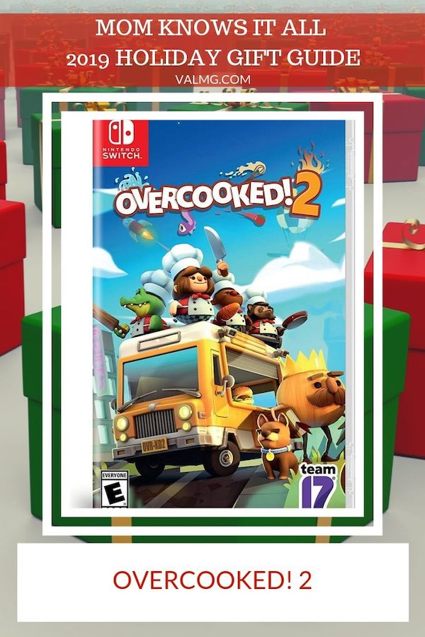 MOM KNOWS IT ALL 2019 HOLIDAY GIFT GUIDE - Overcooked 2 Game For Nintendo Switch, PlayStation 4, Xbox One And Steam