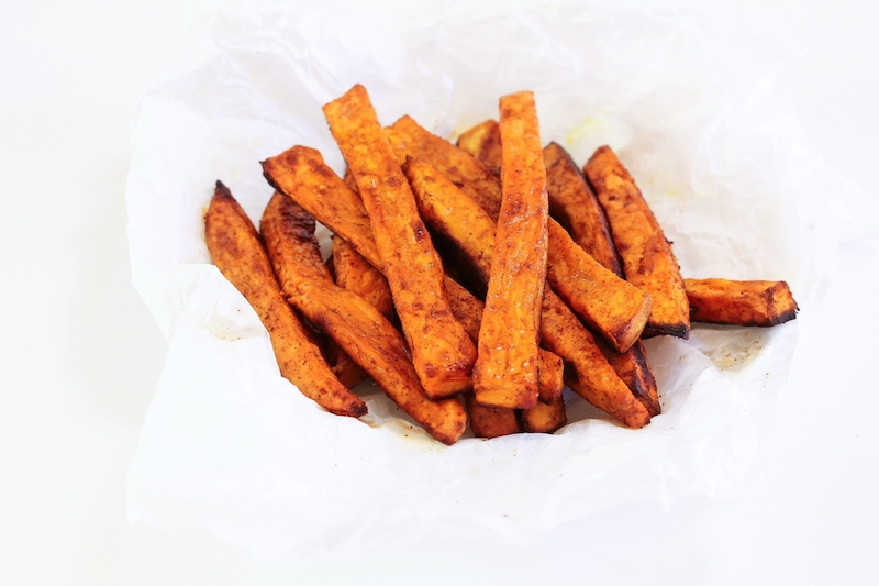 Sweet Potato Fries recipe from The Easy Air Fryer Cookbook: Healthy, Everyday Recipes for People with Diabetes