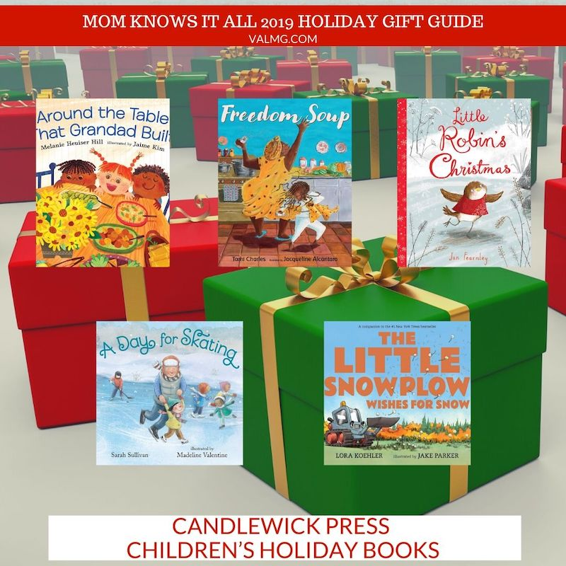 MOM KNOWS IT ALL 2019 HOLIDAY GIFT GUIDE - Candlewick Press Children's Holiday Books