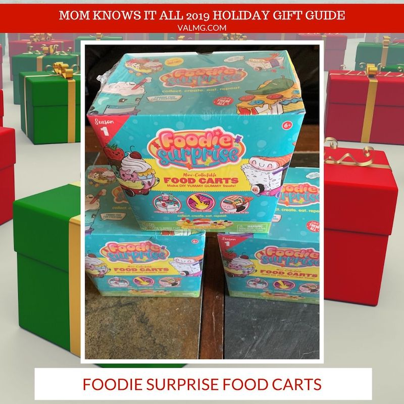 MOM KNOWS IT ALL 2019 HOLIDAY GIFT GUIDE - Foodie Surprise Food Carts