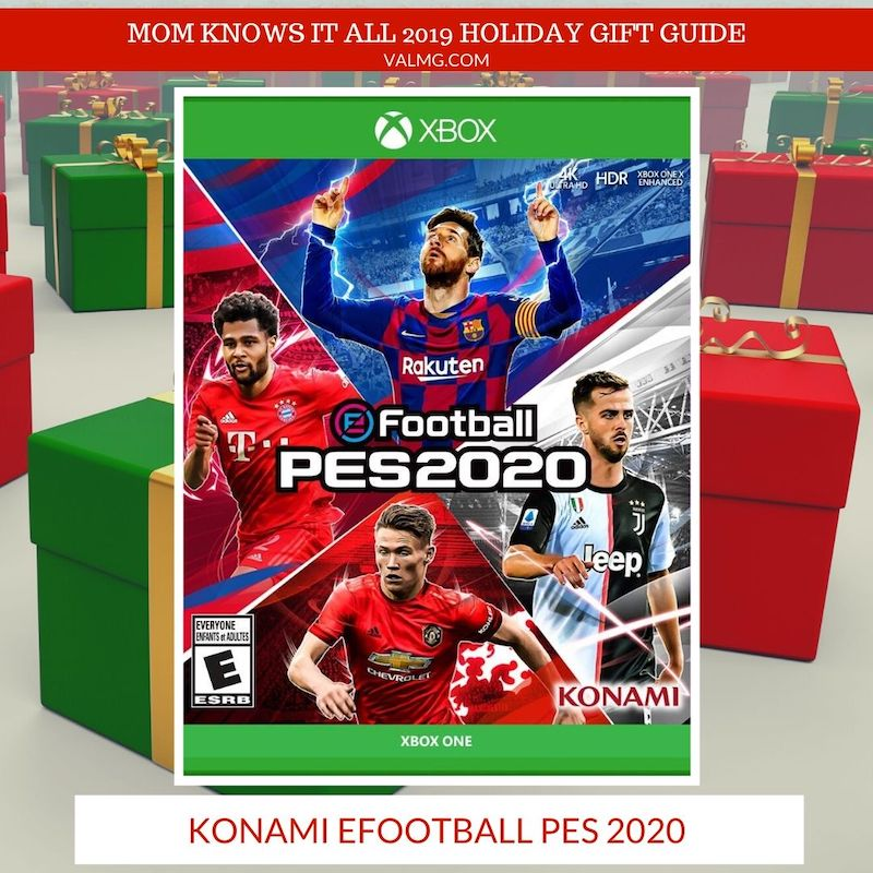 MOM KNOWS IT ALL 2019 HOLIDAY GIFT GUIDE - Konami eFootball PES 2020