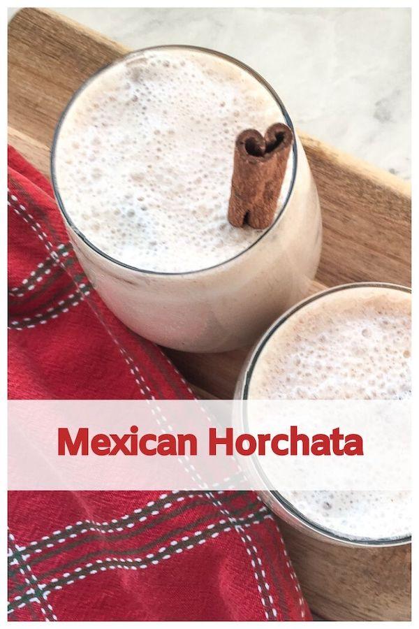 Mexican Horchata Recipe