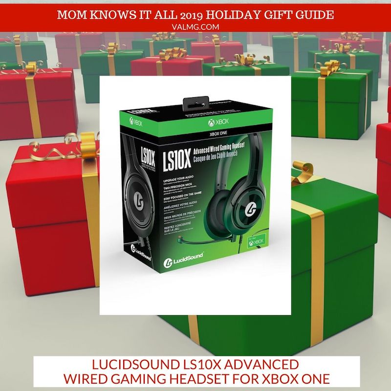 MOM KNOWS IT ALL 2019 HOLIDAY GIFT GUIDE - LucidSound LS10X Advanced Wired Gaming Headset for Xbox One